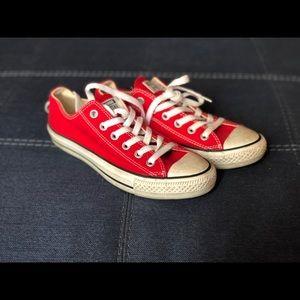 Red Converse Allstar